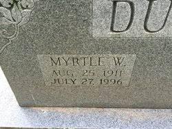 Myrtle Willis Duncan (1911-1996) - Find A Grave Memorial