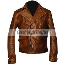 steve rogers first avenger captain america brown jacket