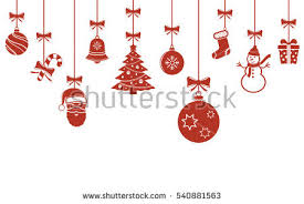 hanging christmas ornaments vector. Delighful Vector Christmas Hanging Ornaments Background Banner To Hanging Ornaments Vector I