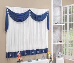 Curtain Design Ideas blue and white curtin designs ideas for window treatment