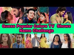 colors tv serials emoji challenge