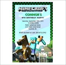 Minecraft Party Invitation Digital File By On Invitations