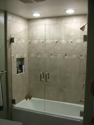 adorable frameless sliding glass tub doors your house idea frameless bathtub shower enclosures useful