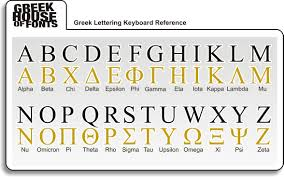 Greek And English Alphabet Chart Thread Chart 1 Greek Font Letter Generator Delta Allows