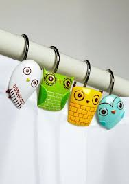 smlf owl shower curtain rings clear plastic shower curtain rings shower ideas brown plastic shower curtain rings