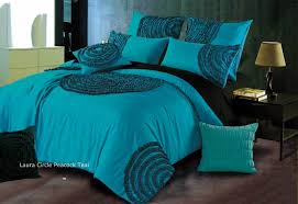 queen king circle quilt cover duvet cover set in