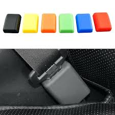 car seat buckle cover universal car seat belt buckle protective cover silica gel 6 colors anti car seat buckle cover