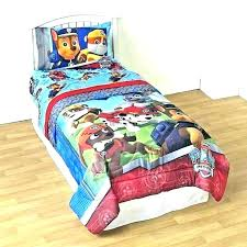 paw patrol bedding set twin paw patrol comforter set twin toddler bedding bed ts pink and