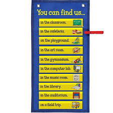 Really Good Stuff Pocket Chart You Can Find Us Clip N Track Pocket Chart Teacher Supplies
