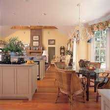 Country Kitchen Accessories Central Island Unit Breakfast Bar In Modern Country Style Kitchen