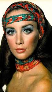 circa 1969 did my eyes like this every day used paint on shadow looks over done now but looked hot back then