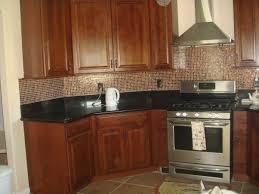 Backsplash Ideas For Black Granite Countertops | Cherry Bright, Cherry  Cabinets And Black Granite Countertops