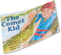 The Comet Kid Fishing Book For Kids - Order Today