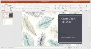 Insert Gantt Chart In Powerpoint How To Make A Gantt Chart In Powerpoint Step By Step With