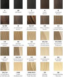 Wella Blonde Hair Colour Chart Best Picture Of Chart