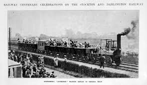 Image result for stockton and darlington railway