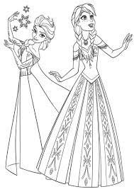Anna Coloring Pages Yahoo Image Search