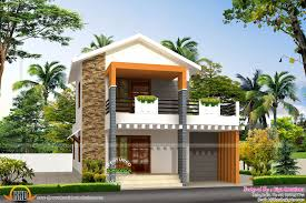 good looking small house designs in kerala double storied