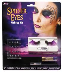 image is loading morris costumes women 039 s spider eye lashes