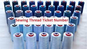 Thread Tex To Ticket Conversion Chart Ticket Number Of Sewing Thread Used In Apparel Industry