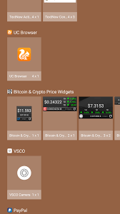 The widgets are customizable to update periodically. Cool Widget To Monitor Steem Price On Android Featuring Bitcoin And Crypto Price Widget Tutorial No 7 Steemit