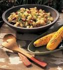 cajun potato salad with andouille sausage
