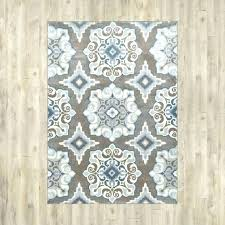 grey and tan area rug white blue rugs s checd