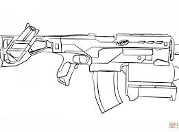 Nerf Coloring Pages Stirring Gun To Print War Blaster Printable How