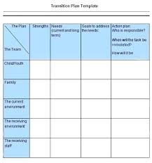 Transition Work Plan Template Naomijorge Co