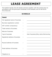 Free Rental Form Business Property Lease Agreement Template Free Commercial Lease