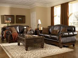 Leather Living Rooms Sets Ashley North Shore Sofa And Loveseat Living Room Sets
