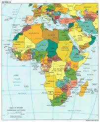 Политическая карта Африки net Политическая карта Африки