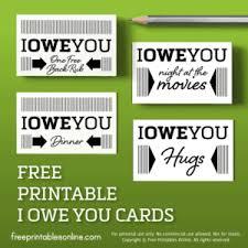Free Printable Iou Forms Printable Iou Coupons Archives Free Printables Online
