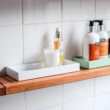 Bath Tray Mini Lacquer Bathroom Kitchen Tray By Nom Living