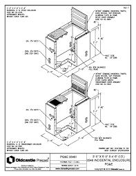 Product spec sheet 3' x 5' utility vault pg e splice transformer diagram zoom