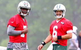 Geno Smith Not at Mark Sanchez's Jets West Camp