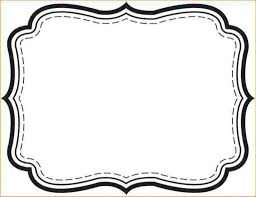 rectangle bracket frame. Photo Frame Template Free Rectangle Bracket