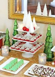 Christmas Dessert Table Ideas Classic Holiday Dessert Table Holiday
