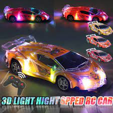 RC Car High Speed Remote Control Toys RC Racing Car Roadster Sports Auto  Light Up Car Play Vehicles with 3D Light - buy from 29$ on Joom e-commerce  platform