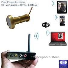 front door video cameraWireless WiFi Door Peephole Camera Motion Detect Recording for
