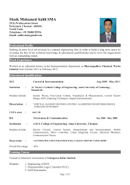 resume format for freshers engineers computer science job resume resume format for engineering students in word