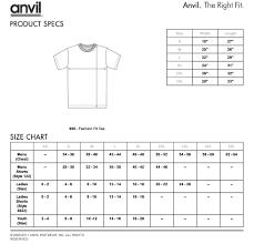 Mens Apparel Size Chart Rldm