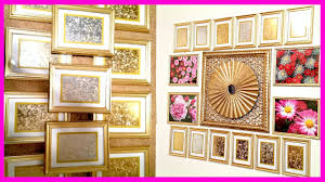 diy home decor mercury glass wall frames