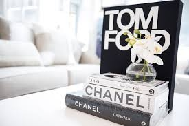 chanel book decor