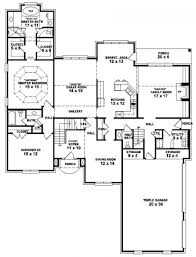 6 bedroom one story house plans