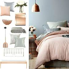 copper grey blush bedroom more room decor pink dining accessories blush room decor