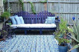 moroccan patio furniture. Moroccan Patio Furniture Outdoor Rug With Traditional Deck Also Bench Blue Cobalt L
