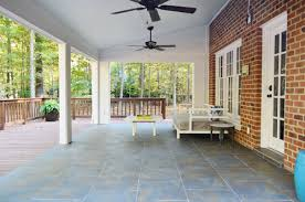 tiling cleaning and grouting an outdoor area remember when we tiled the floor