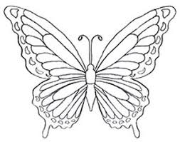 All the three butterflies have the same patterns made on them. Butterfly Coloring Pages Download Free Butterflies To Color Butterfly Art For Kids Butterfly Coloring Page Butterfly Drawing Coloring Pages