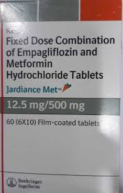 Jardiance Met 12 5 Mg 500 Mg Tablet